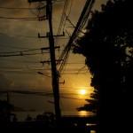 Patong steet - evening.